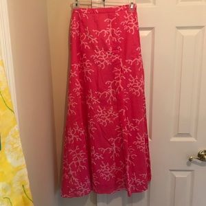 Lilly Pulitzer maxi skirt size 2